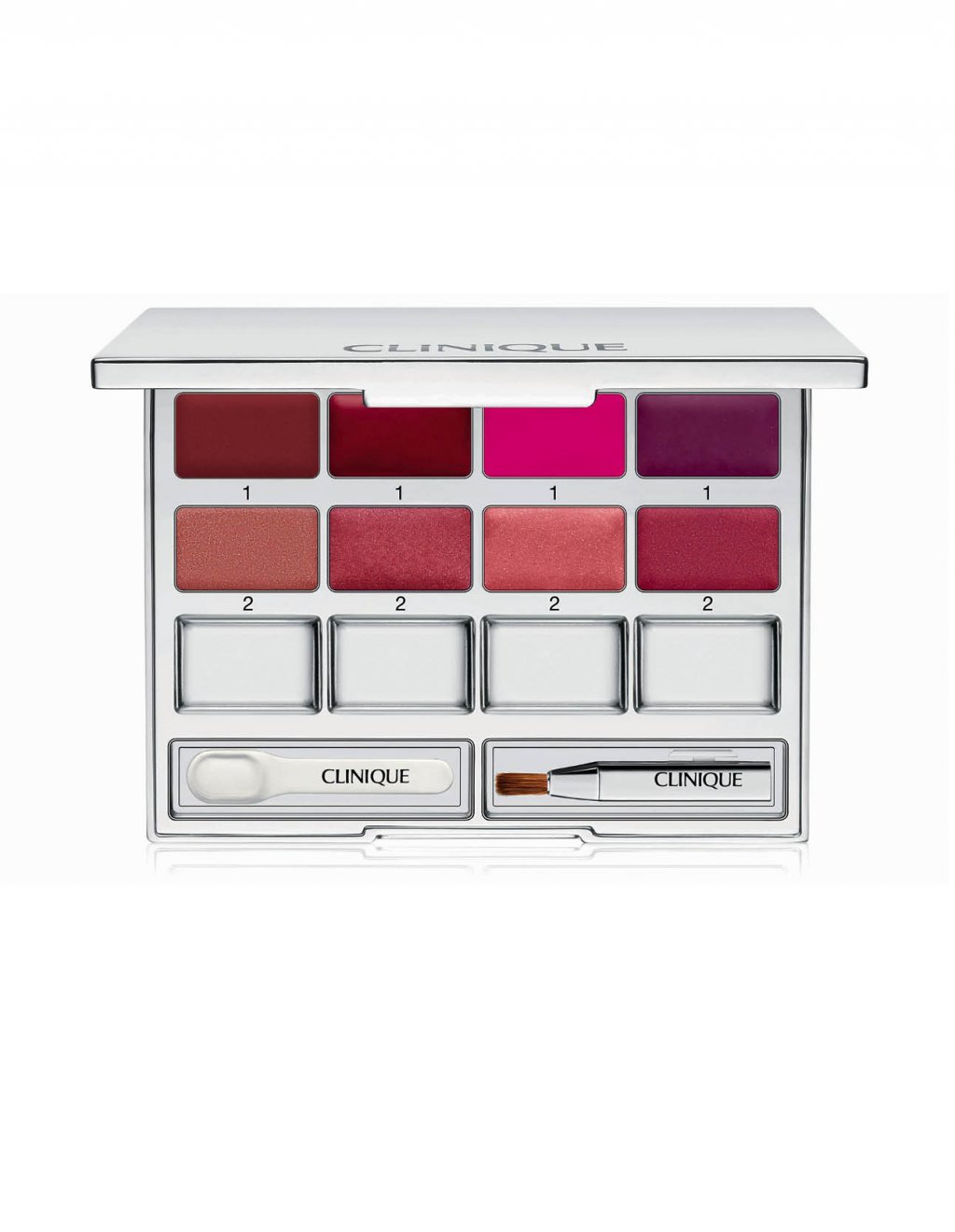 Paletka na rty Pretty Easy Lip Palette,  Clinique, 1570 Kč