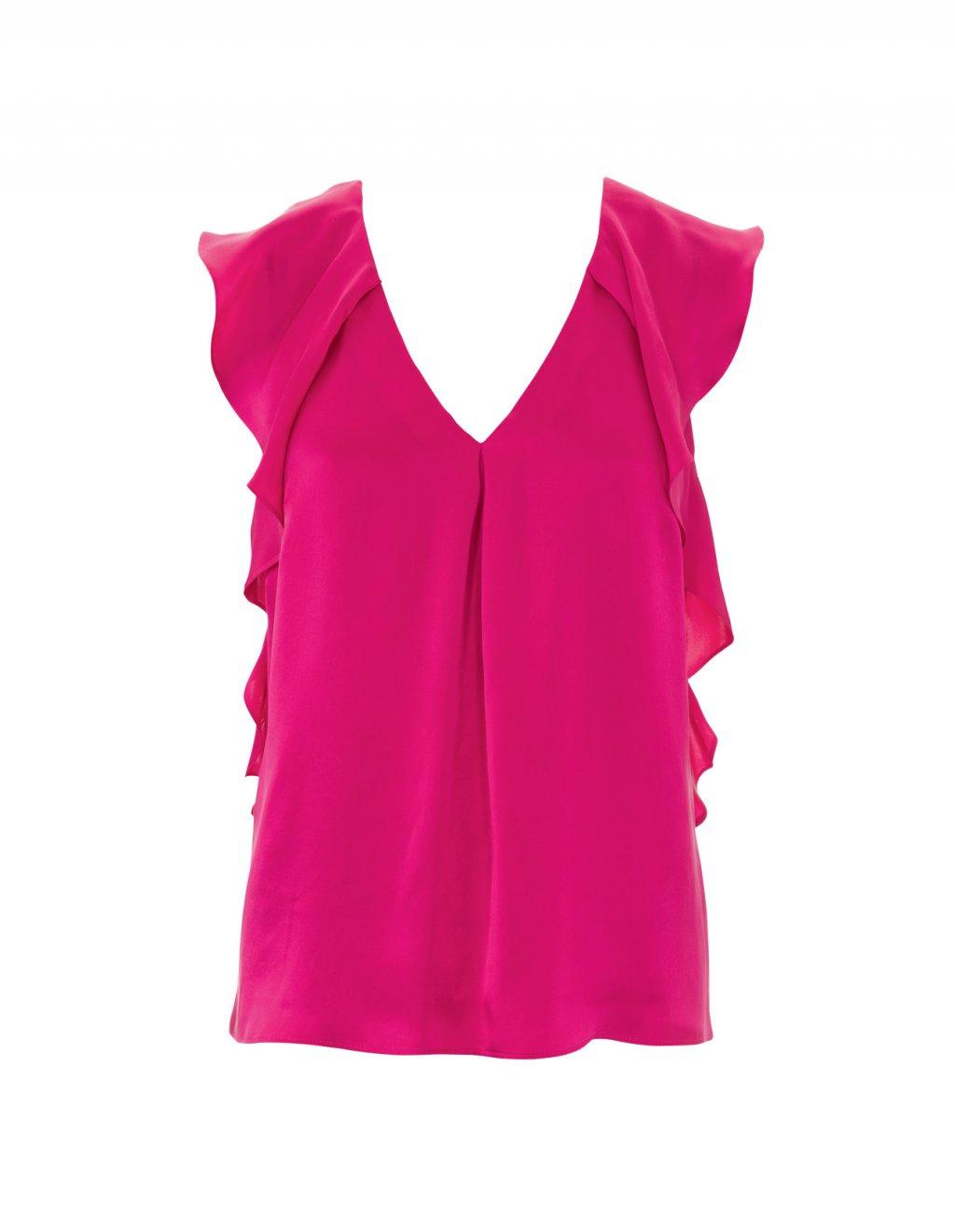Блуза с открытыми плечами и 85