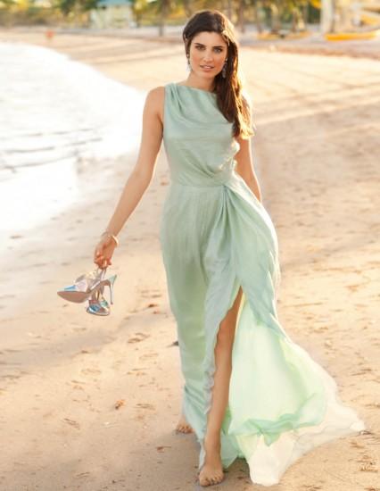 35343b68d5e Dlouhé plážové antické šaty pro společenskou událost