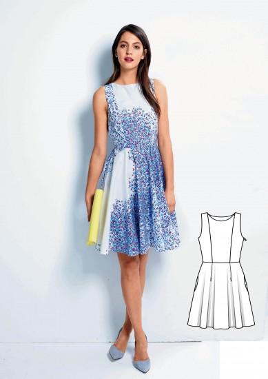 5f96b932562 Krátké šaty bez rukávů