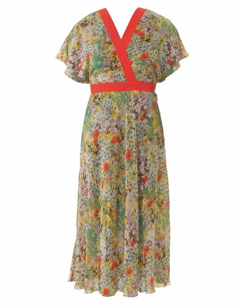 Letní empírové šaty  efa523c90a